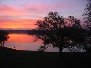 Sunrise over Taylor Lake